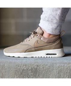 Chaussure Nike Air Max Thea Cuir Marron