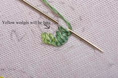 I ❤ embroidery . . . How to make Corn Poppies . . .