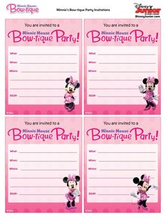 I've included pretty much all the great ideas I could find to create an adorable Minnie Mouse party for your little girl. Minnie Mouse Theme Party, Minnie Birthday, Mickey Minnie Mouse, Mouse Parties, Mickey Party, Girl Birthday Themes, Kids Party Themes, 3rd Birthday Parties, Party Ideas