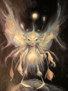 Thinking about a Brian Froud tattoo mixed with vibrant color. Description from pinterest.com. I searched for this on bing.com/images