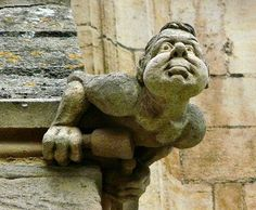a grotesque-location unknown (Oxford?)