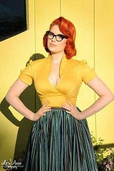 Pinup Couture Girl Clothing SEAN top S Laura Byrnes GOLD BNWT shirt blouse pug in Clothing, Shoes & Accessories, Women's Clothing, Tops & Blouses | eBay