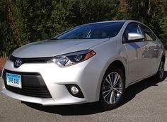 First drive: 2014 Toyota Corolla redesigned small sedan impresses via Consumer Reports.