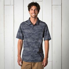 Men's Fletch Print Short Sleeve Shirt | Toad&Co ~ Toad&Co Activewear