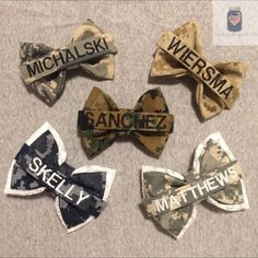 Nametape Bows Military Bows Marine Bow Army by InspiredDesignXoXo - Uniform Airforce Wife, Marines Girlfriend, Navy Girlfriend, Navy Wife, Girlfriend Tattoos, Girlfriend Quotes, Deep Relationship Quotes, Relationship Goals, Army Mom