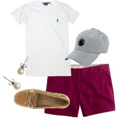 """""""Day at the mall"""" by the-original-southern-prep on Polyvore"""