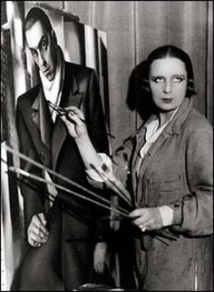 Tamara de Lempicka  16 May 1898 – 18 March 1980