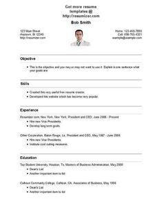 ResumizerCom Resume Template Style   Resume Templates