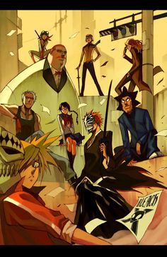 one of the best faction in Bleach #Vizard