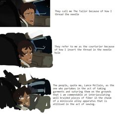 Image result for lance mcclain the tailor
