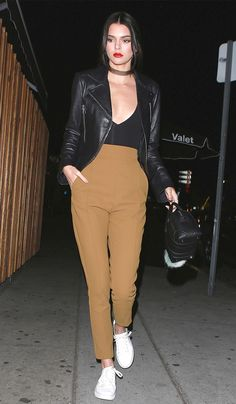 Kendall Jenner Wore Sneakers to Her Favorite L.A. Club via @WhoWhatWear