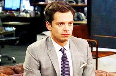Sebastian Stan being his precious little self.