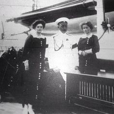 Rare photo of Tatiana and Olga with N.P Sablin, 1912. Credit: judicialinvestigator.tumblr.com #russian #grandduchesses #tatiana #and #olga #romanov #beautiful #girls #russianbeauty #gorgeous #rare #picture #of #them #in #1912 #imperial #russia #history #russianroyalty