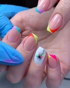 Nail Art Designs Videos, Nail Art Videos, Fall Nail Designs, Nail Designs For Kids, Tropical Nail Designs, Tropical Nail Art, Funky Nail Designs, Toenail Art Designs, Beach Nail Designs