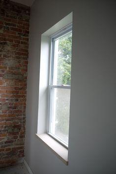 65 ideas for kitchen window trim modern Window Sill Trim, Window Sill Decor, Interior Window Trim, Window Trims, Window Ledge, Bathroom Window Sill Ideas, Bathroom Windows, Bathroom Interior, Basement Bathroom