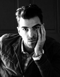 Zachary Quinto. You sir win the best eyebrows award. :)