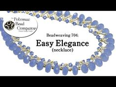 BeadsFriends: Beaded bezel pearl - Beaded earrings made with a bezeled pearl, Seed beads and Delicas - YouTube