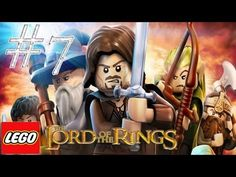 Lego the lord of the rings - Walkthrough Part 7 Taming Gollum
