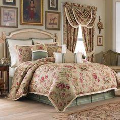 Croscill® Cottage Rose Comforter Set - BedBathandBeyond.com