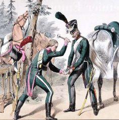 7ème régiment de Chasseurs 1806 Maréchal Ferrant