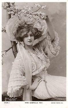 Gabrielle Ray. English Edwardian Actress.