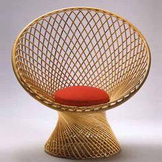 franco albini, primavera chair by vittorio bonacina, 1951