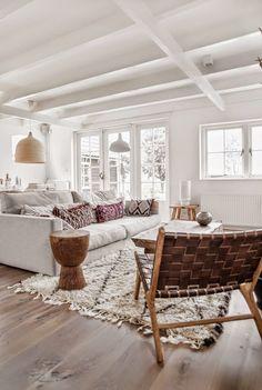 Inspiratie! Lichte en natuurlijke woonkamer, De Hypotheker, De Hypotheker wooninspiratie