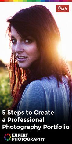 5 Steps to Create a Professional Photography Portfolio