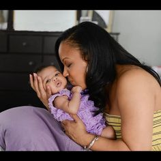 Mary Mary's Erica Campbell with daughter Zaya Monique