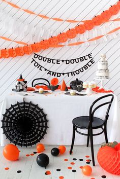 We just got this new batch of Halloween party supplies in the shop and everything is ridiculously awesome. There are 6 weeks left until Halloween, so there's still plenty of time to plan a big party!