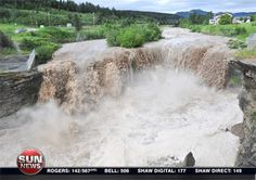 already living in Calgary for 25 years! flooded in Calgary Alberta Canada   June 2013