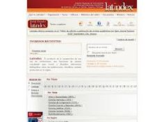 Latindex es el sistema regional de información en línea para revistas científicas de América Latina, el Caribe, España y Portugal. Regional, Portugal, Bullet Journal, Science Journals, Latin America, Thursday, Caribbean, September