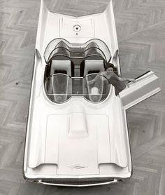 50s Lincoln Futura concept car