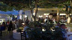 Alana restaurant, Rethymno (Rethymnon), Crete, Greece.