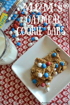 M&M's® Oatmeal Cooki