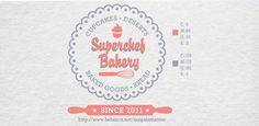 Superchef Bakery Logos by Mega Caesaria, via Behance