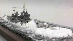 HMS King George V by Chris Flodberg