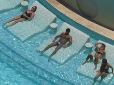 Pool Beds vaso piscina poliéster modelo istambull en color blanco. medidas