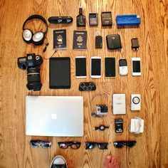 Casey Neistat Photography Gear, Photography Equipment, Casey Neistat Office, Casey Niestat, Ben Brown, Edc Tactical, Emergency Preparation, Travel Vlog, Edc Gear