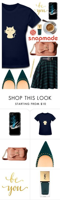 """""""Snapmade (05)"""" by itsybitsy62 ❤ liked on Polyvore featuring Vivienne Westwood, WALL and Yves Saint Laurent"""