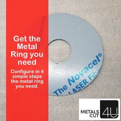 Just 1 of 14 different #metal shapes you can configure online.  Ideal for all #DIY  enthusiasts #home improvement and #renovation projects you are working on via MetalsCut4U.com