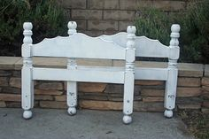 Vintage Chic Twin Bed In Snow White By Foo Foo by FooFooLaLaChild, $300.00