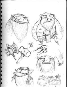 Sketchbook: 10-2013 by BRIAN HUFF, via Behance