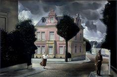 Carel Willink - De jobstijding, 1932. Stedelijk Museum Amsterdam