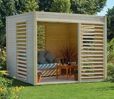 Let the Carmen Pavilion from Rowlinson complete your garden picture. This beautiful Carmen Pavilion can easily fit furniture inside to ease your…