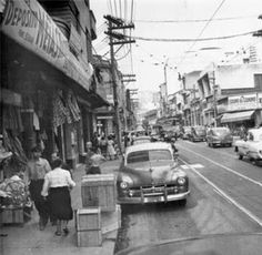 São Paulo em Preto & Branco: Maio 2015 Rua José Paulino Ano: 1957 Autor: desconhecido