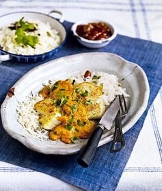 Debbie Major's cod recipe is full of fresh, fragrant flavours and makes a perfect dinner party meal.