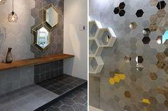 Ceramicas vives pavimentos hexagonales art and other - Azulejos hexagonales bano ...