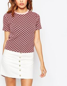 Image 3 of ASOS Jacquard Top