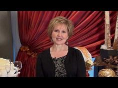 """In this edition of """"The Studio"""", Senior Catering Consultant Nancy Lutz shares with viewers our festive """"Holiday"""" decor.  www.affairs.com"""